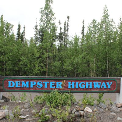 route Dempster et Inuvik