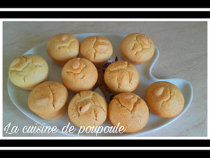 Muffins aux amandes (veggie, sans lactose) au thermomix ou sans et mon nouveau partenaire les caves