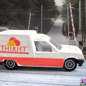 RENAULT 5 EXPRESS SURGELES THIRIET 1988 SOLIDO 1/43 - R5 GLACES THIRIET - car-collector