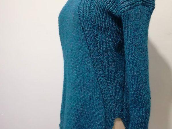 pull bleu paon : ddf2019#1