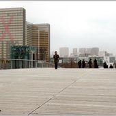 Les ponts de Paris : la passerelle Simone de Beauvoir - Images du Beau du Monde