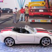 FERRARI CALIFORNIA HOT WHEELS 1/64 FERRARI CONVERTIBLE FERRARI CABRIOLET - car-collector.net