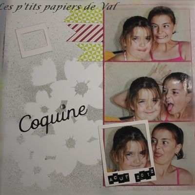 """Page """"Coquine"""""""