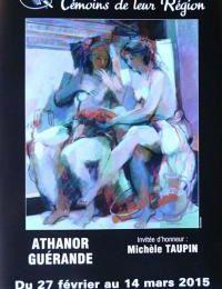 """Guérande - Athanor expose les """"Peintres et Sculpteurs Témoins de leur Région"""" du 26 février au 14 mars 2015"""