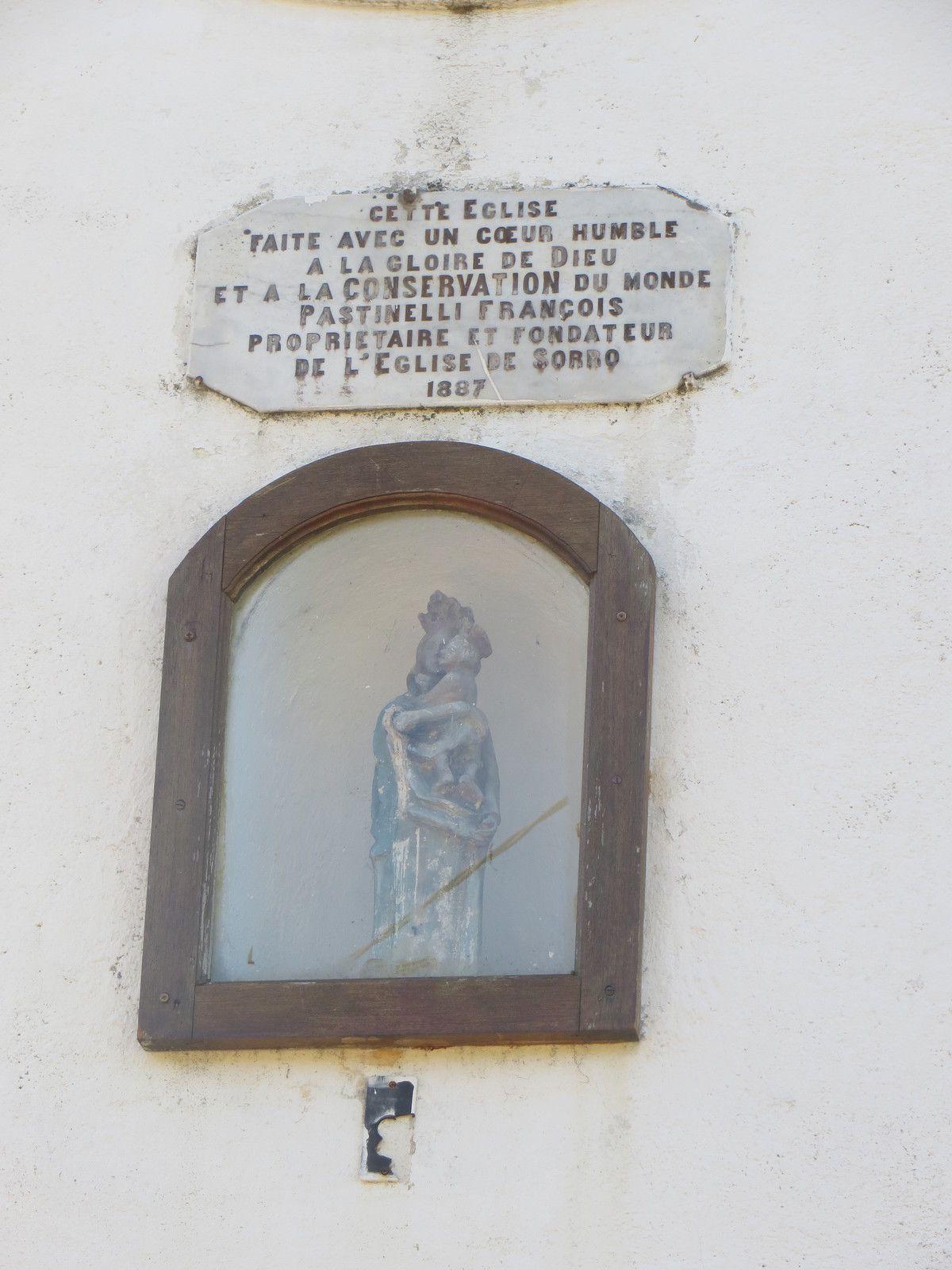 """Leca Anna-Maria ; Medurio Noelle, """"chapelle Notre-Dame de Lavasina de Sorro,""""Médiathèque Culturelle de la Corse et des Corses, consulté le 4 septembre 2020, http://m3c.univ-corse.fr/omeka/items/show/1099529."""