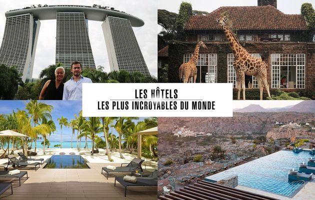 """""""Les hôtels les plus incroyables du monde"""", une série documentaire, tous les dimanche à 20h50 sur Paris Première à partir du 19 août"""
