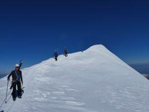 Des Bosses au sommet du Mont Blanc
