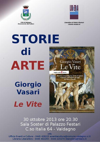 """Storie di Arte: Marco Cavalli presente """"Le vite di Vasari"""""""