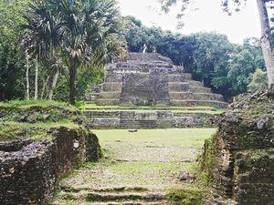 Situation géographique du Chiapas et sites touristiques (Images libres de droits)