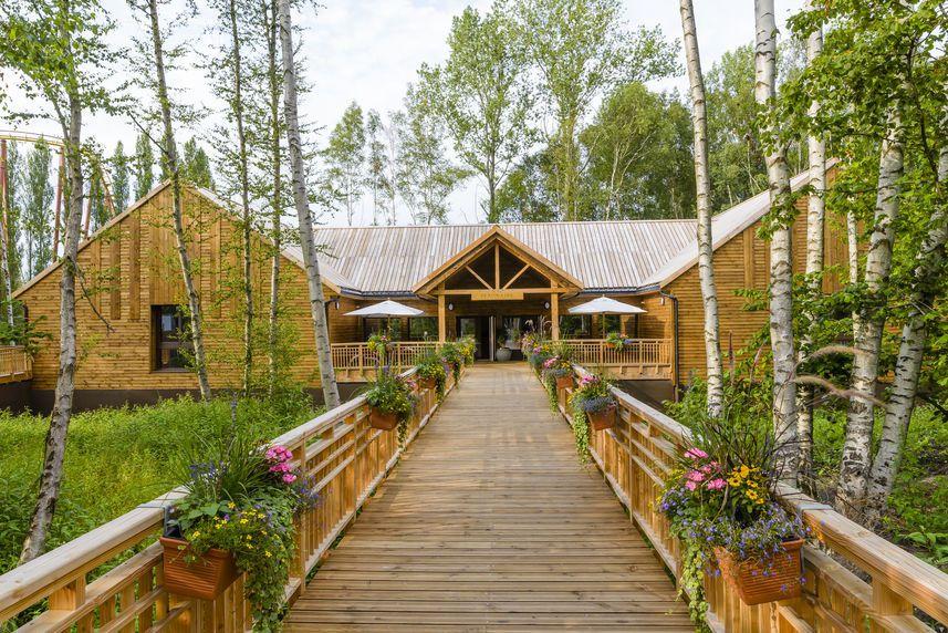 L'hôtel propose une nuit au cœur des bois, dans tous les sens du terme !