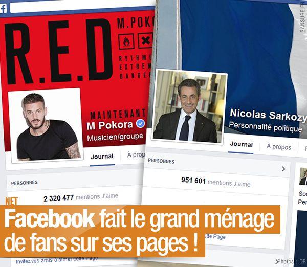 Facebook fait le grand ménage de fans sur ses pages ! #Like
