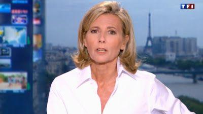 2013 05 12 - CLAIRE CHAZAL - TF1 - LE 20H @20H00