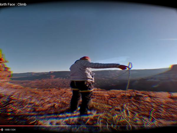 The North Face : où commence la virtualité où finit la réalité en magasin? Une marque qui ose!