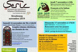 SERIC 2019 - 19 novembre 2019 - STRASBOURG - Soirée sur le thème de la solidarité