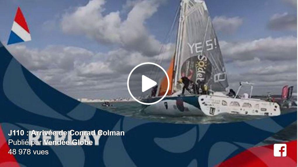 Vidéo - Conrad Colman, le Crazy Kiwi, 16e du Vendée Globe,