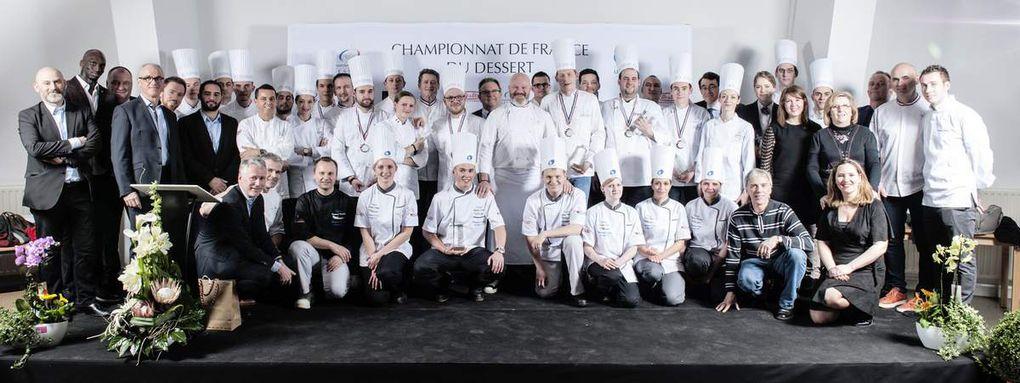 Championnat de France du dessert : Enzo Franzi et Cyril Gaidella titrés