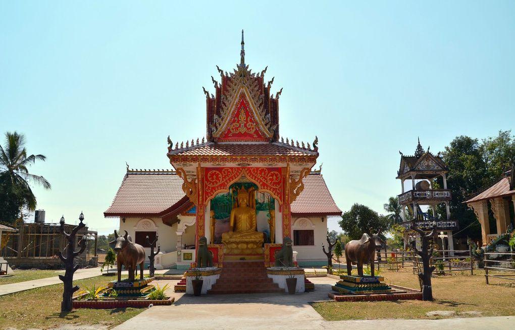 40 minutes de tuktuk jusqu'à Ban Saphai puis 20 minutes de bateau pour l'île de Don Kho