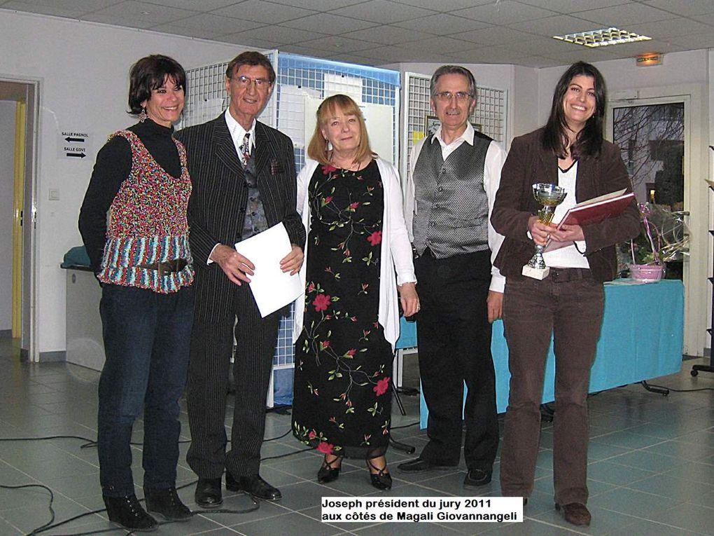 Joseph Lévonian fit partie du bureau de Provence-poésie de juillet 2010 à avril 2014 : il fit de remarquables interprétations.