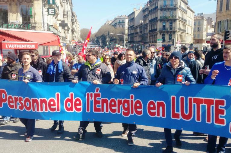 13 janvier, jour du 75ième anniversaire du dépôt de loi des nationalisations d'EDF et de GDF.