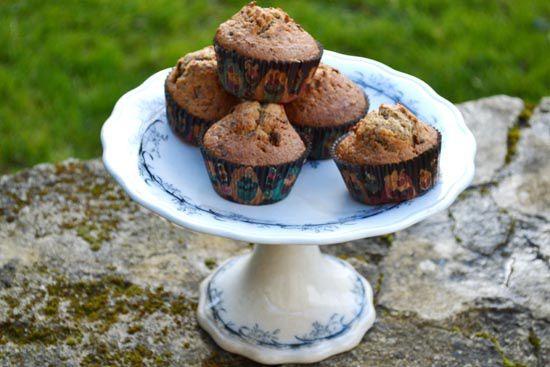 Muffins aux Amandes Torréfiées