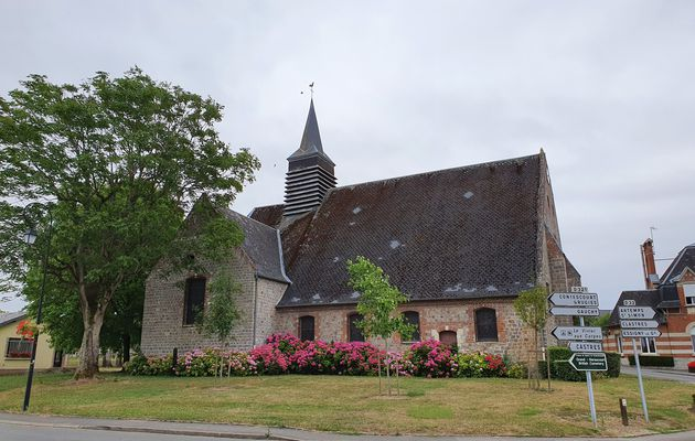 08 juillet 2020 - La Via Francigena de Trefcon à Montescourt-Lizerolles
