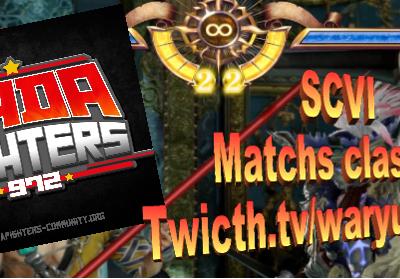 SOULCALIBUR 6 : Streams, Salon et Matchs classés sur Twitch