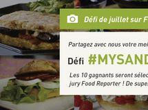 Défi du mois de juillet : #Mysandwich