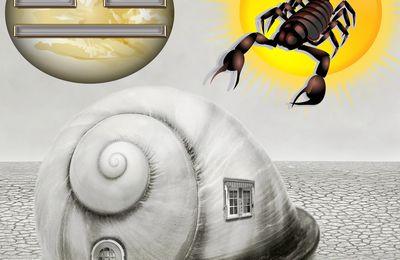 L'escargot va t-il devoir rentrer dans sa cabane sous un Soleil en Scorpion et Vénus en Balance?