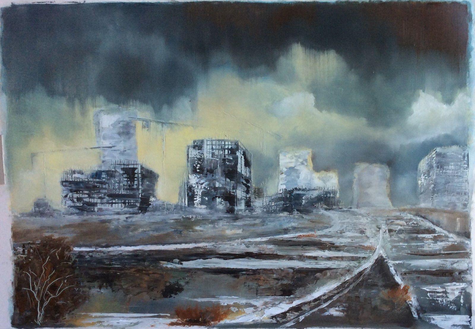 Le monde selon Paugam, artiste peintre