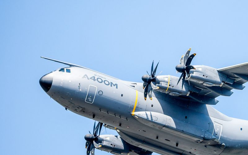 La Royal Air Force réceptionne son premier A400M
