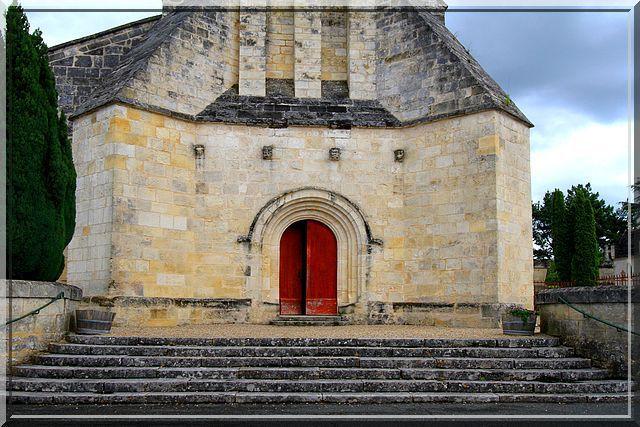 Diaporama église fortifiée de Saint-Quentin-de-Baron