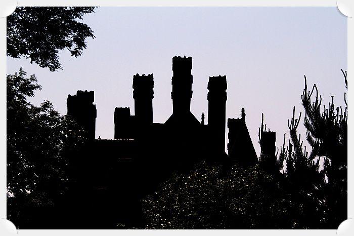Que de cheminées il y a en ce château !