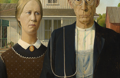 Grant Wood - American Gothic - 1930