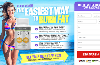 Vital Lean Keto- Reviews, Weight Loss Diet, Work & Buy?