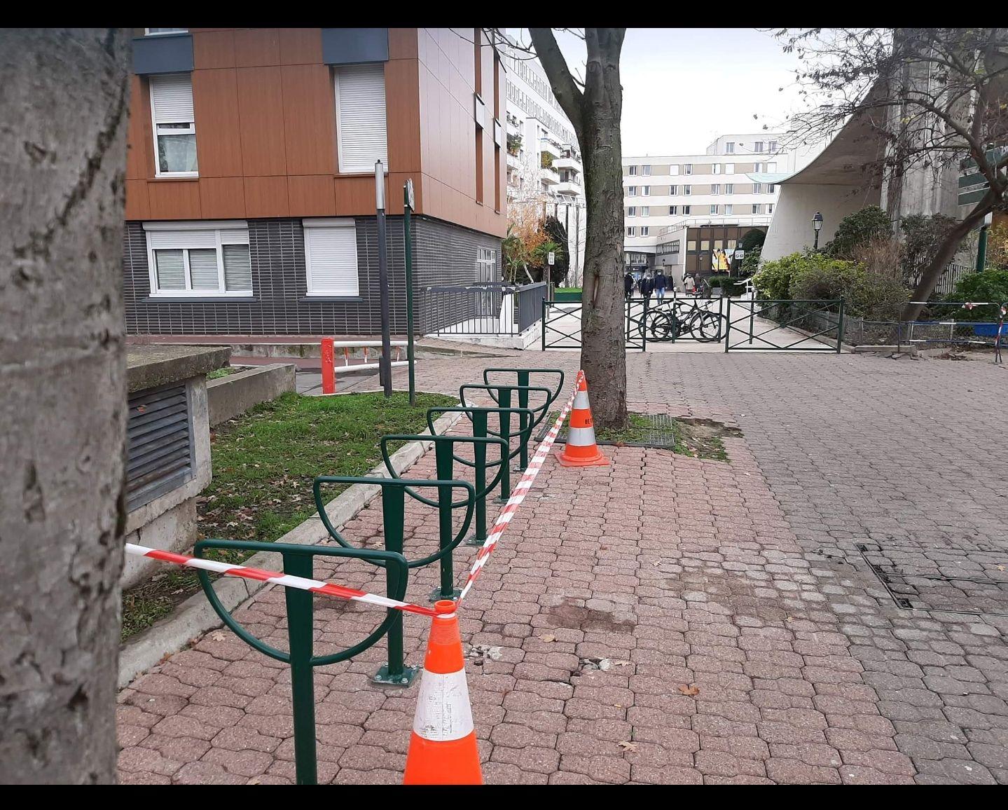 1ère Campagne de lancement des Arceaux vélos sur Colombes