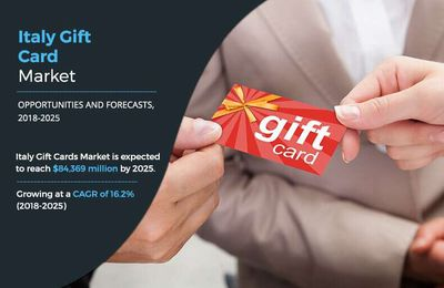 Italy Gift Cards Market is Projected to reach $84,369 million by 2025