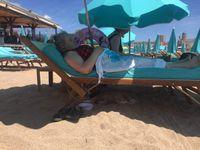 """Journée """"Aux sablettes"""", le seul moyen d'amener Josiane sur la plage"""