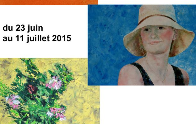 Exposition - Michèle S., Patrick G. & Claire A. - du 23 juin au 11 juillet 2015