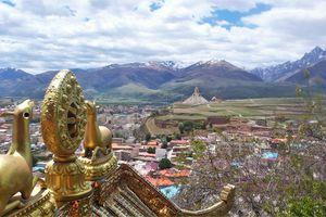 Sichuan-Kham (28) ... Ma première journée dans la ville de Ganzi