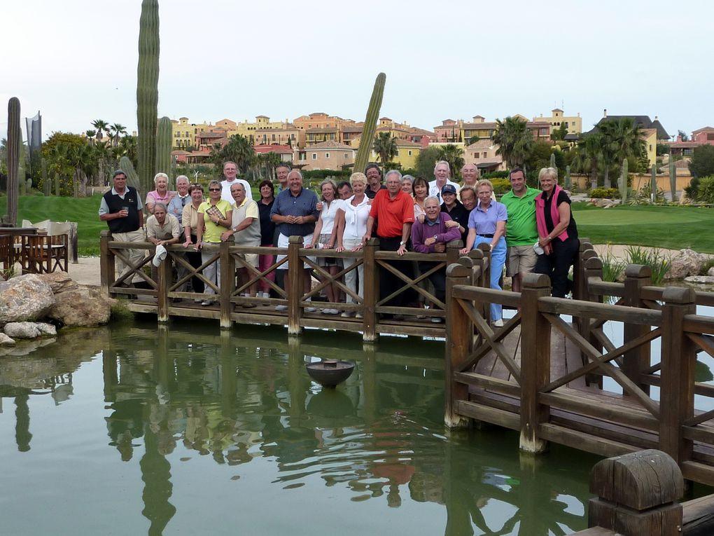1er séjour golfique de notre groupe