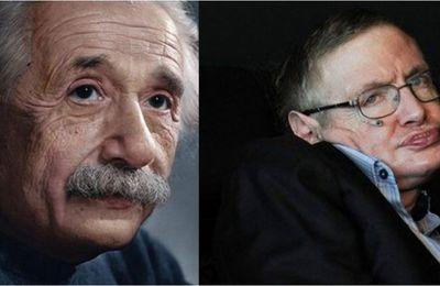 Einstein et Hawking  Arte