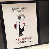 Shopping VIP au Palais des Congrès (concours inside) - Lulu from Montmartre