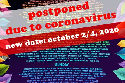 ⚠ Tiësto date postponed due to coronavirus ⚠| Electric Daisy Carnival | Las Vegas, NV - may 16, 2020