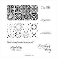 152528 Today's Tiles Stampin up Motifs en céramique carreaux de ciment