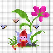 Une petite sieste sous une fleur - Les chroniques de Frimousse
