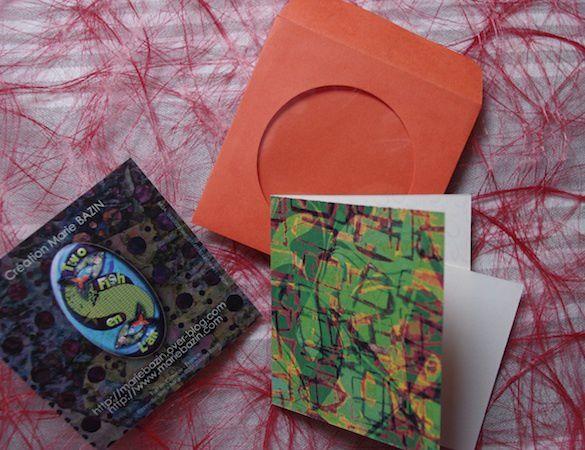 Et enfin, les petites cartes à vœux, souhaits, mots doux etc...©2014 Marie BAZIN