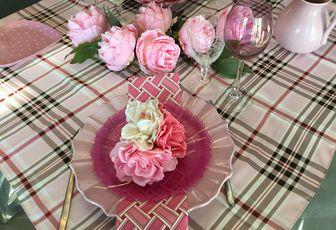 Ma table de Saint-Valentin