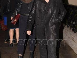 Bono à l'hôtel The Shelbourne à Dublin Ireland - 26.11.15.
