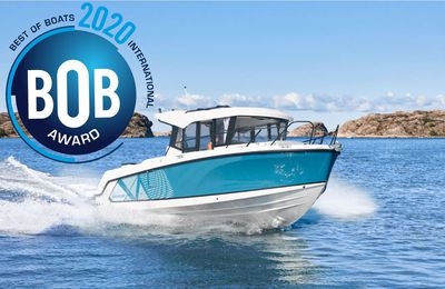 Sport Fishing - Le Quicksilver 805 Pilothouse récompensé d'un Best of Boats Award 2020