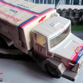 CAMION IVECO 4X4 190 PAC RALLYE TRANSAFRICA 1980 SOLIDO 1/43. - car-collector.net